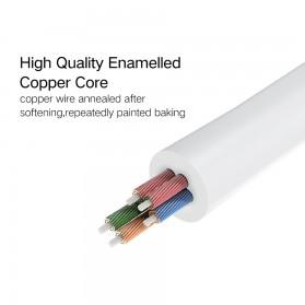 UGREEN Kabel Audio Splitter Jack 3.5mm 2 Port Earphone & Microphone - 30619 - Gray - 8