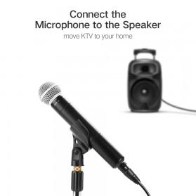 UGREEN Kabel 6.35mm to XLR Karaoke Microphone 5 Meter - AV131 - Black - 2