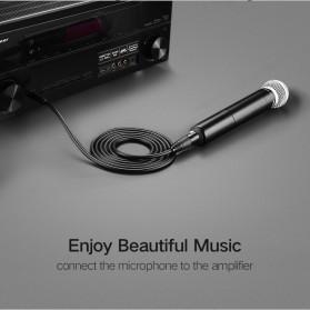UGREEN Kabel 6.35mm to XLR Karaoke Microphone 5 Meter - AV131 - Black - 3