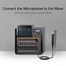 UGREEN Kabel 6.35mm to XLR Karaoke Microphone 5 Meter - AV131 - Black - 4