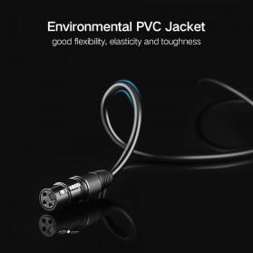 UGREEN Kabel 6.35mm to XLR Karaoke Microphone 5 Meter - AV131 - Black - 8