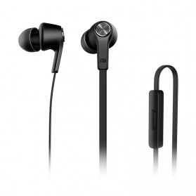 Xiaomi Mi Piston Huosai Earphone Colorful Edition (ORIGINAL) - Black