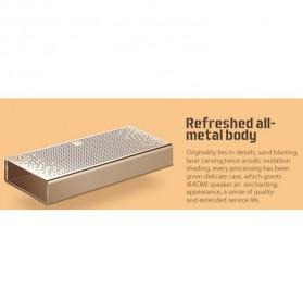Xiaomi Metal Box Bluetooth Portable Speaker - Golden - 11
