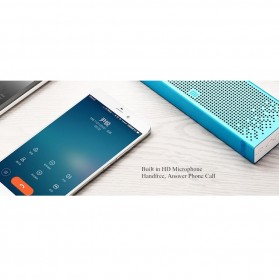 Xiaomi Metal Box Bluetooth Portable Speaker - Golden - 12