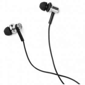 Xiaomi Quantie Hybrid Dual Driver In-Ear Earphones with Mic (ORIGINAL) - Black - 4