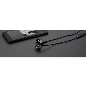 Xiaomi Quantie Hybrid Dual Driver In-Ear Earphones with Mic (ORIGINAL) - Black - 7