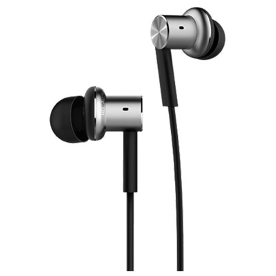 ... Xiaomi Quantie Hybrid Dual Driver In-Ear Earphones with Mic (ORIGINAL) - Black ...