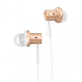 Xiaomi Quantie Hybrid Dual Driver In-Ear Earphones with Mic (ORIGINAL) - Golden