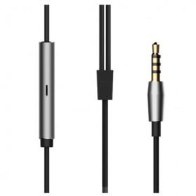 Xiaomi Quantie Hybrid Dual Driver In-Ear Earphones with Mic (ORIGINAL) - Golden - 3