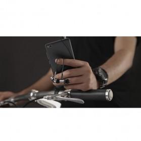 Xiaomi Quantie Hybrid Dual Driver Earphone dengan Mic (Replika 1:1) - Black - 11