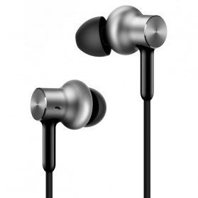 Xiaomi Quantie Pro Hybrid Triple Driver Earphone with Mic - Silver