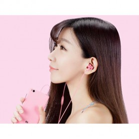 Xiaomi Mi Piston Huosai 3 Earphone Fresh Version (ORIGINAL) - Pink - 6
