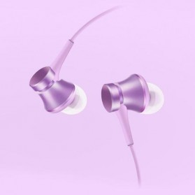 Xiaomi Mi Piston Huosai 3 Earphone Fresh Version (ORIGINAL) - Purple - 2