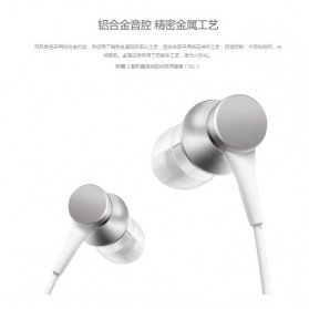 Xiaomi Mi Piston Huosai 3 Earphone Fresh Version (ORIGINAL) - Black - 8