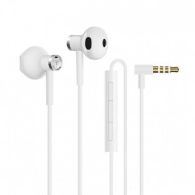Earphone - Xiaomi Earphone Earpods Half In-Ear with Mic - White