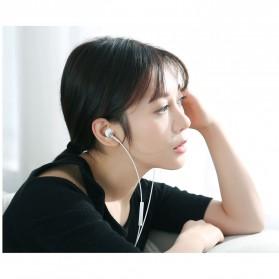 Xiaomi Earphone Earpods Half In-Ear with Mic - BRE01JY - White - 4