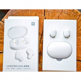 Xiaomi Mi AirDots Lite TWS Bluetooth Earphone - White - 11