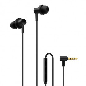 Xiaomi Mi Hybrid 2 Triple Dynamic + Balance Armature Driver Earphone with Mic - Black - 1