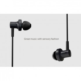 Xiaomi Mi Hybrid 2 Triple Dynamic + Balance Armature Driver Earphone with Mic - Black - 2