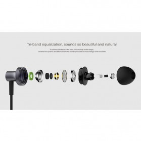 Xiaomi Mi Hybrid 2 Triple Dynamic + Balance Armature Driver Earphone with Mic - Black - 8