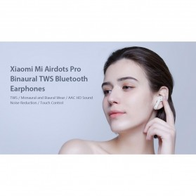 Xiaomi Mi AirDots Pro TWS Bluetooth Earphone - White - 6