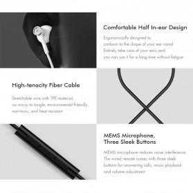 Xiaomi Dual Drivers In-ear Earphone with Microphone - BRE01JY (Replika 1:1) - Black - 7