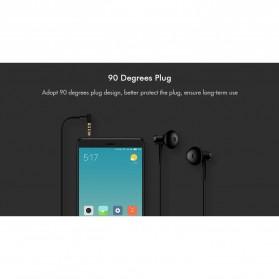 Xiaomi Dual Drivers In-ear Earphone with Microphone - BRE01JY (Replika 1:1) - Black - 8