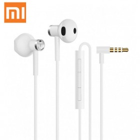 Xiaomi Dual Drivers In-ear Earphone with Microphone - BRE01JY (Replika 1:1) - White