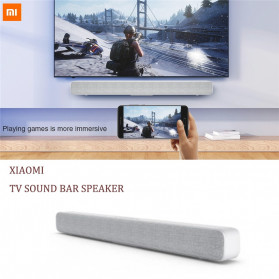 Xiaomi Mi Soundbar Speaker Bluetooth Home Theater 33 Inch - Silver