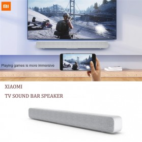 Xiaomi Mi Soundbar Speaker Bluetooth Home Theater 33 Inch - MDZ-27-DA - White