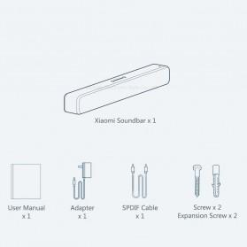 Xiaomi Mi Soundbar Speaker Bluetooth Home Theater 33 Inch - MDZ-27-DA - White - 7