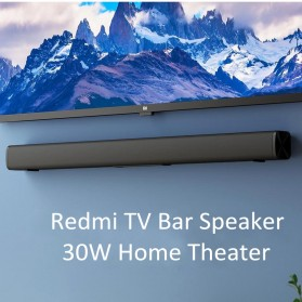 Xiaomi Redmi Soundbar Speaker 30W Home Theater Bluetooth 5.0 - Black