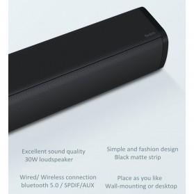 Xiaomi Redmi Soundbar Speaker 30W Home Theater Bluetooth 5.0 - MDZ-34-DA - Black - 9