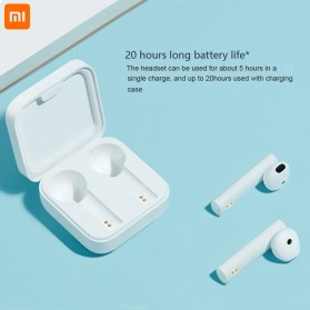 Xiaomi Mi Air 2 SE TWS Bluetooth Earphone - TWSEJ04WM - White - 4
