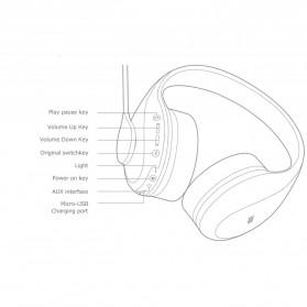 Xiaomi K Song Wireless Bluetooth Headphone Headset Karaoke with Mic - NDZ-19-AI - White - 9