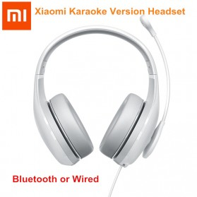 Xiaomi K Song Wired Headphone Headset Karaoke with Mic - White