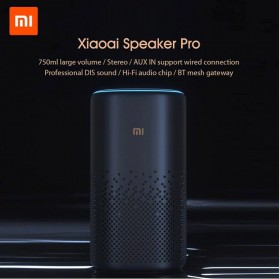 Xiaomi Xiaoai Smart Speaker Pro AI Bluetooth HiFi Audio Wireless Mesh Gateway LX06 - Black