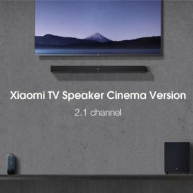 Xiaomi Soundbar Home Theater 2.1 Subwoofers 100W Bluetooth 5.0 -MDZ-35-DA - Black - 2