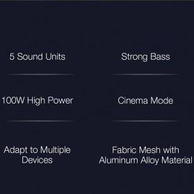 Xiaomi Soundbar Home Theater 2.1 Subwoofers 100W Bluetooth 5.0 -MDZ-35-DA - Black - 5