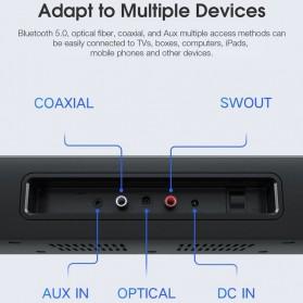 Xiaomi Soundbar Home Theater 2.1 Subwoofers 100W Bluetooth 5.0 -MDZ-35-DA - Black - 6