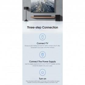 Xiaomi Soundbar Home Theater 2.1 Subwoofers 100W Bluetooth 5.0 -MDZ-35-DA - Black - 7