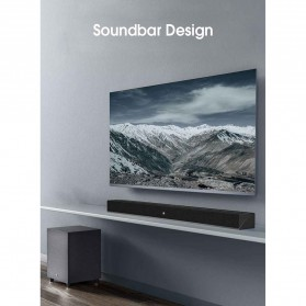 Xiaomi Soundbar Home Theater 2.1 Subwoofers 100W Bluetooth 5.0 -MDZ-35-DA - Black - 8