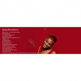 Meizu Bluetooth Earphone Sporty Magnetic dengan Microphone - EP52 - Red - 7