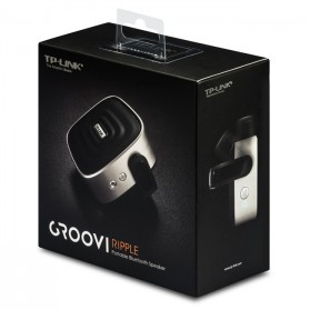 TP-Link Groovi Ripple Portable Bluetooth Speaker - BS1001 - Black - 5