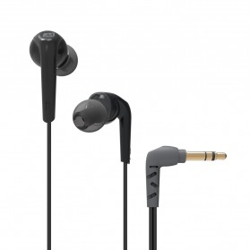 MEElectronics Comfort-Fit In-Ear Headphones with Enhanced Bass - RX18 - Black
