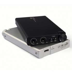 Topping NX5 Portable Headphone Amplifier - Silver - 2