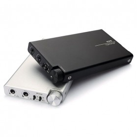 Topping NX5 Portable Headphone Amplifier - Silver - 3
