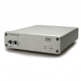 Topping D30 High Resolution USB DAC - Silver - 4