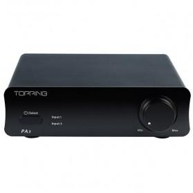 Topping PA3 Desktop Digital Amplifier - Black - 3