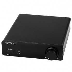 Topping PA3 Desktop Digital Amplifier - Black - 4